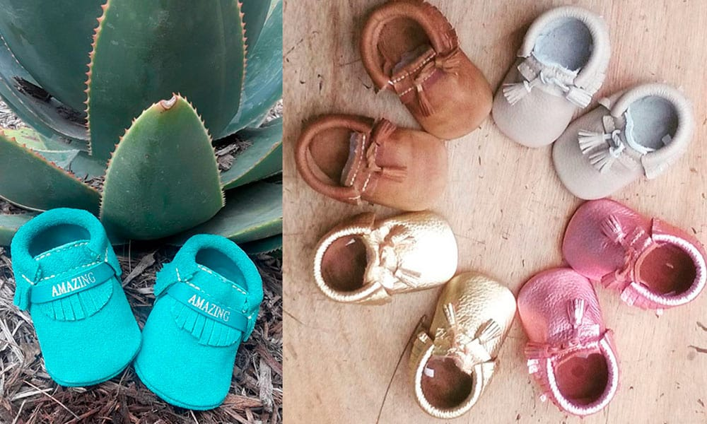 first steps moccasins baby babies cowgirl magazine