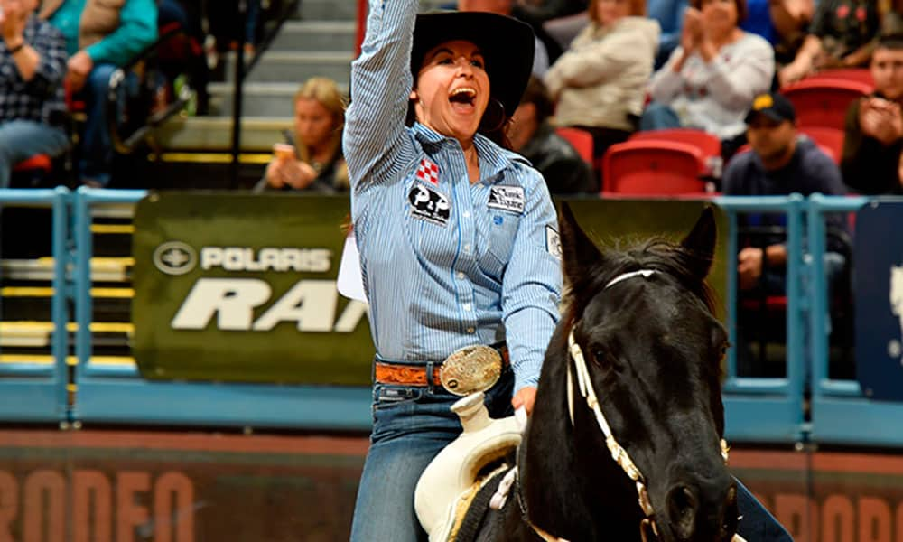 barrel racers 2018 nfr cowgirl magazine
