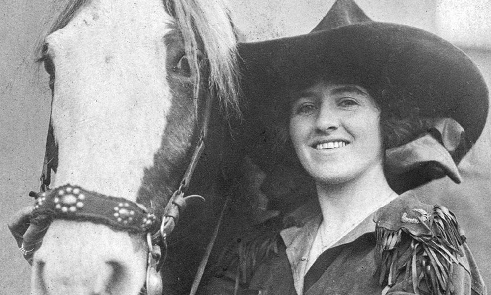 Ruth Roach Cowgirl Magazine