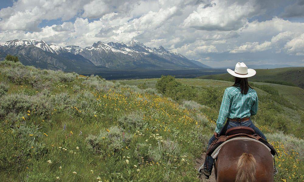 Jackson Wyoming Tetons GMC Spring Creek Ranch Cowgirl Magazine