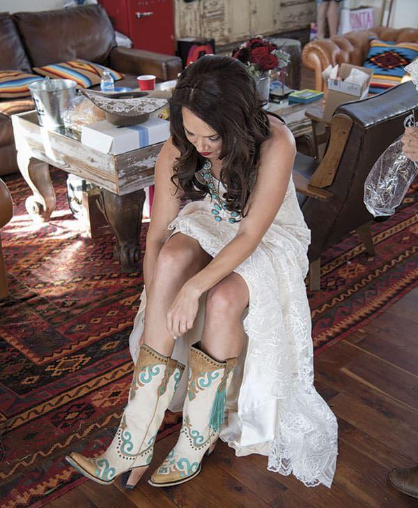 wedding day inspiration cowgirl magazine