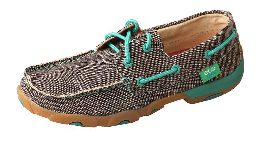 twisted x eco twx moccasin dust turquoise