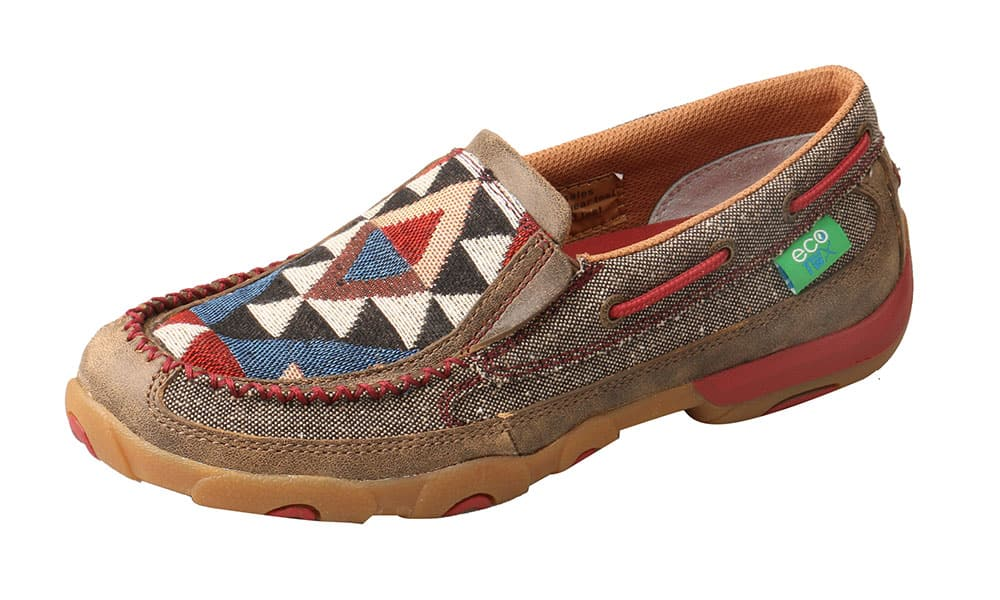 twisted x eco twx moccasin dust/multi