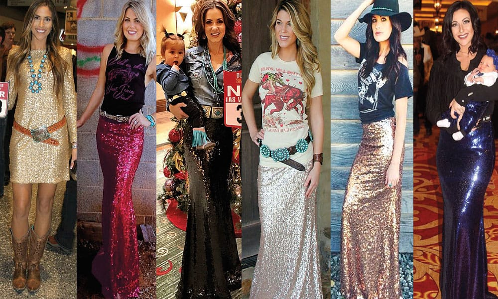 western fashion glitters glitter dress glitter skirts cowgirl magazine