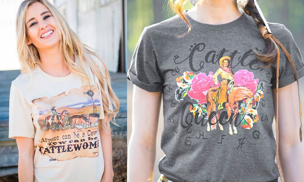 NFR Worthy Graphic Tees Cowgirl Magazine