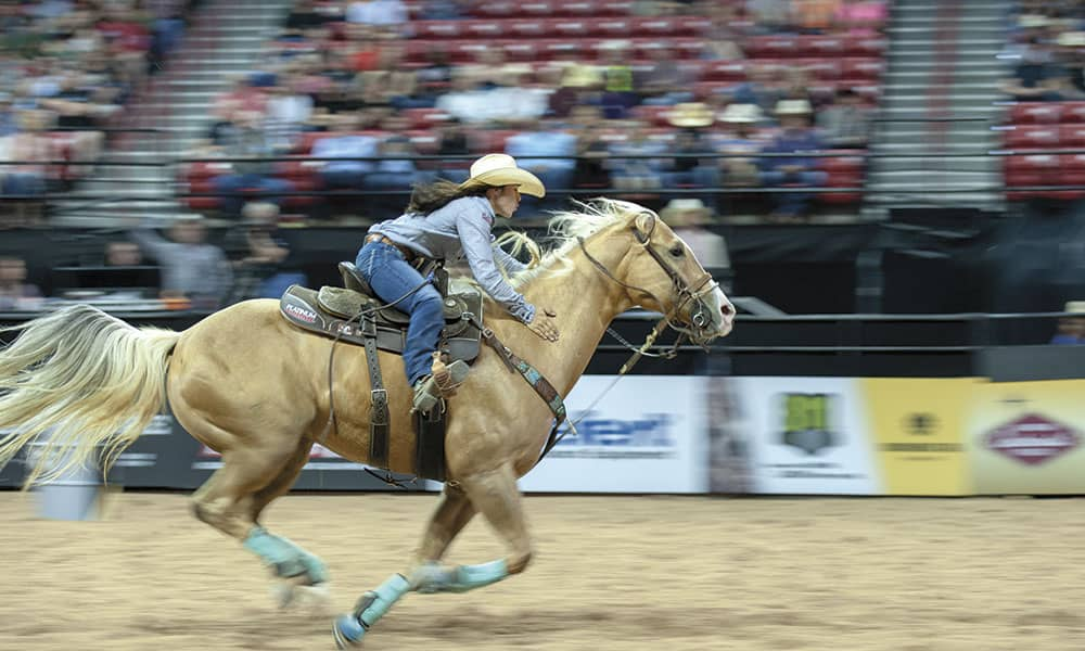 Hailey Kinsel Sister DM Sissy Hayday WPRA barrel racing cowgirl magazine