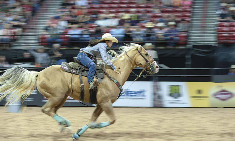 Hailey Kinsel Sister DM Sissy Hayday WPRA barrel racing cowgirl magazine