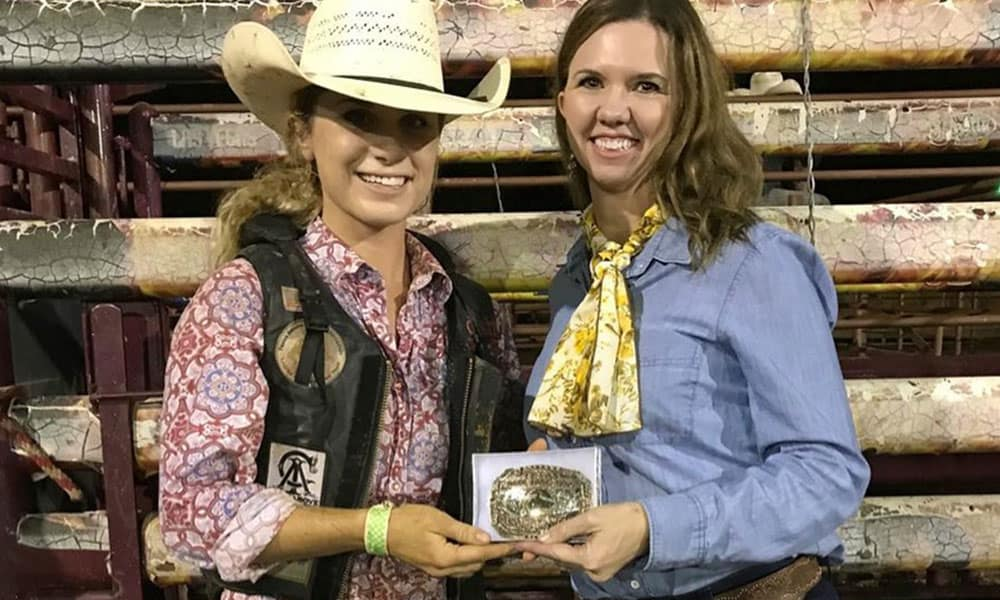 Texas Bronc Riders Association TBRA Jane Revercomb Ladies Ranch Bronc Finals Cowgirl Magazine