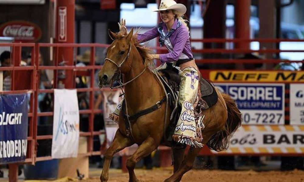 Keri Sheffield Miss Rodeo America 2018 Cowgirl Magazine