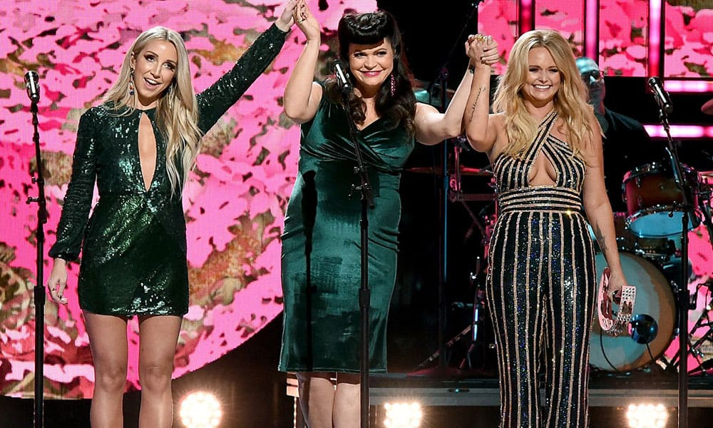 Pistol Annies CMT Artists Of The Year Ashley Monroe Angaleena Presley Miranda Lambert Cowgirl Magazine
