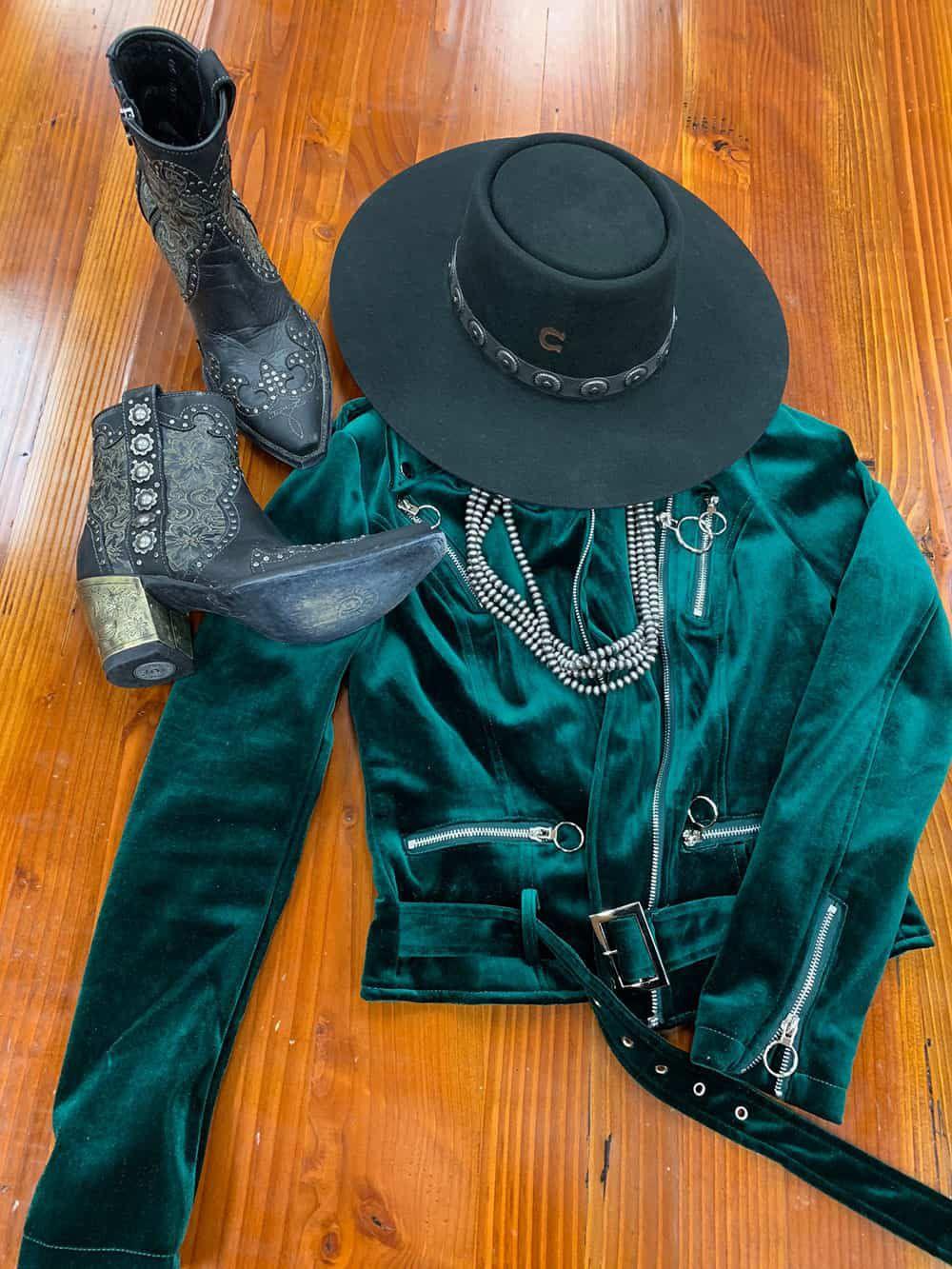 charlie 1 horse cowboy cowgirl hat high desert black flat brim nfr