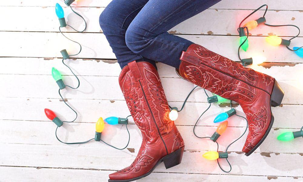 Dan Post Boots Christmas Present Cowgirl Magazine