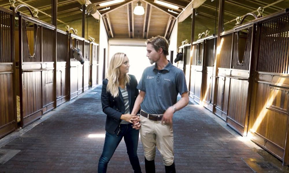 Karl Cook Kaley Cuoco Equestrian Paradise Cowgirl Magzine