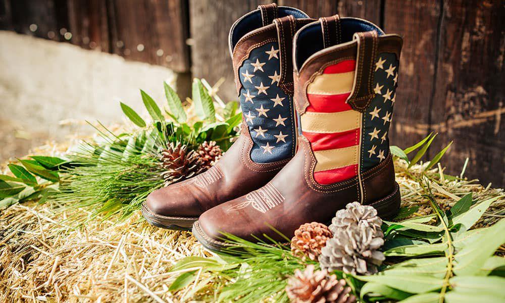 womens lady rebel flag cowboy boots durango