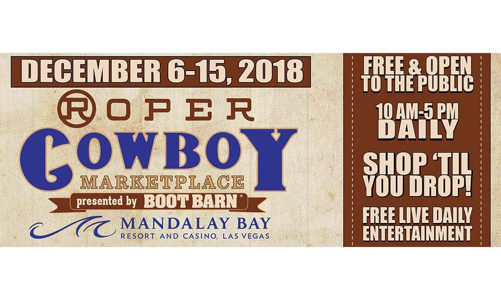 cowgirl magazine NFR trade shows roper cowboy marketplace mandalay bay