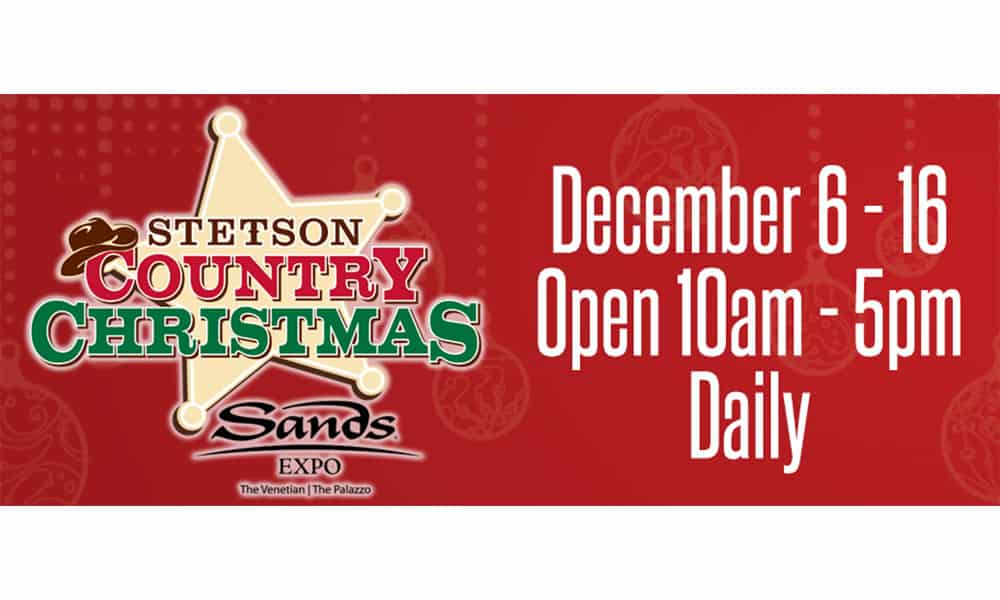 cowgirl magazine NFR trade shows stetson country Christmas the sands