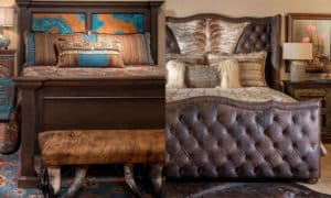 adobe interiors bedding bedroom furniture cowgirl magazine