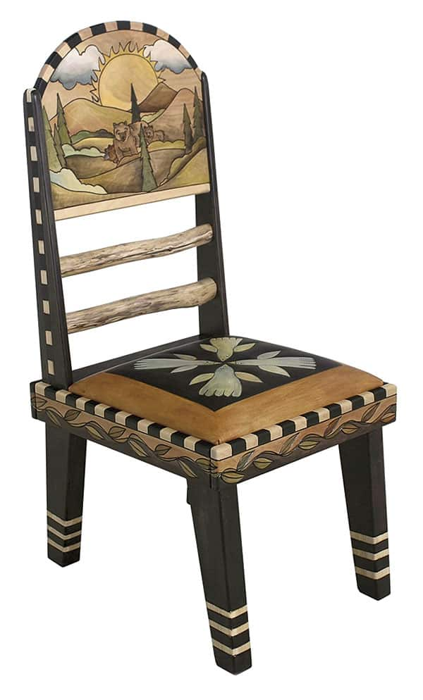 Painted Leather Furnishings Cowgirl Magazine