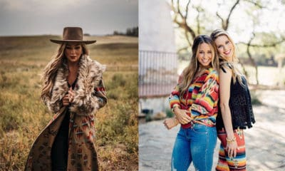 Tasha Polizzi fur lined jacket serape print cowgirl magazine