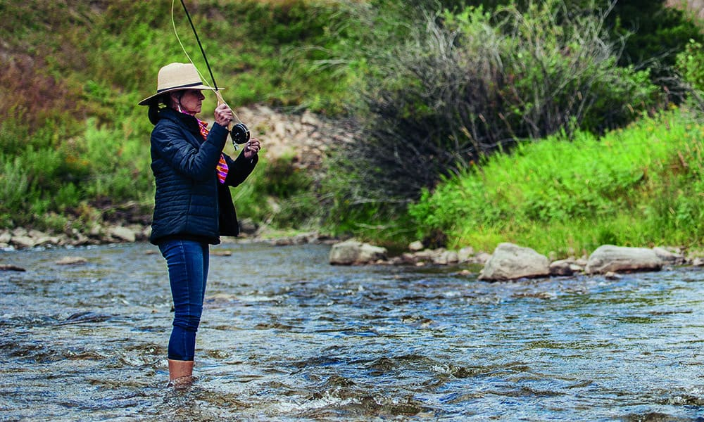 fly fishing montana river cowgirl magazine