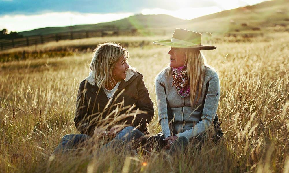 geena marcuzzo jeana noel grass camp cowgirl magazine