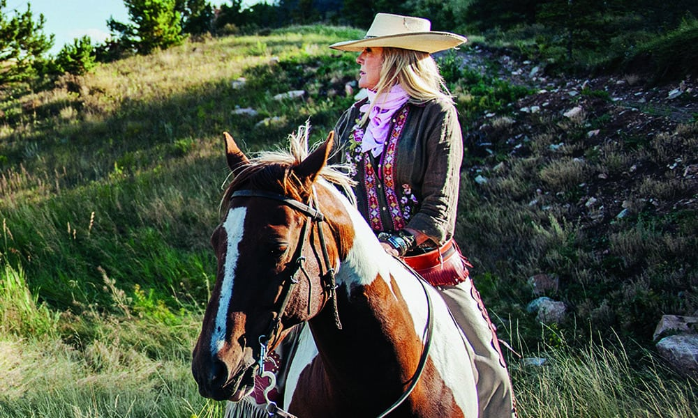horse riding equine montana camp cowgirl magazine