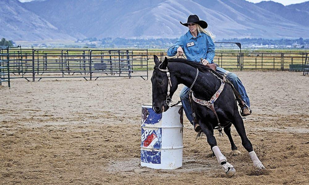 Amberley Snyder Walk Ride Rodeo Netflix Film Cowgirl Magazine