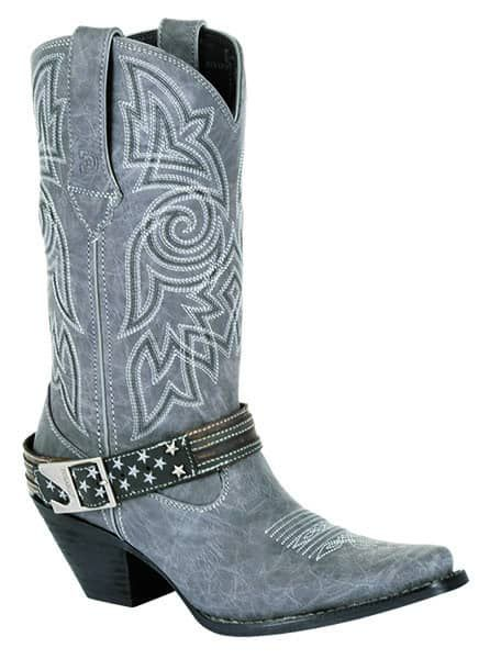 durango crush graphite gray silver cowboy boot western cowgirl magazine