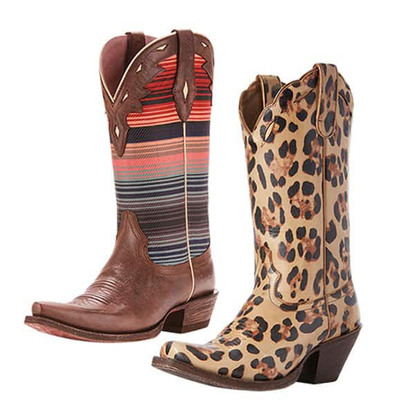 ariat boot serape western cowboy leopard cowgirl magazine