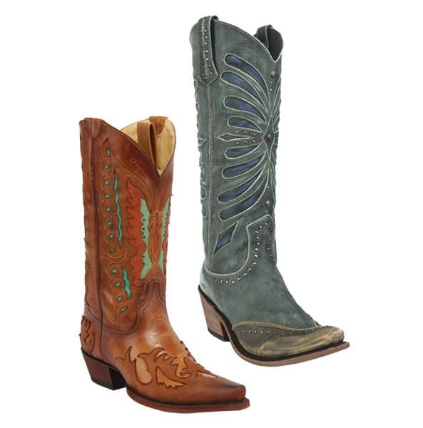 brown turquoise boots western cowboy liberty black cowgirl magazine