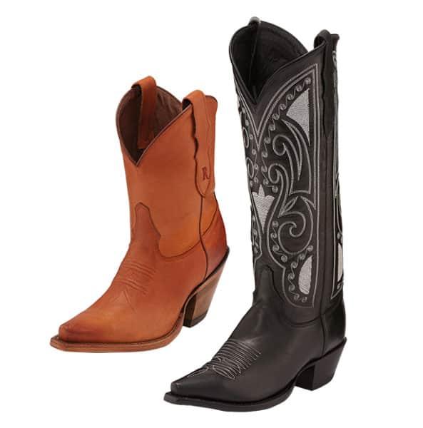 reba by justin remy tan starlet black boot western cowboy cowgirl magazine