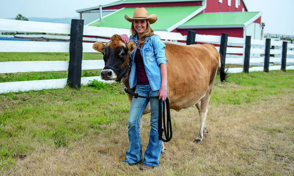 jersey cow amber marshall farm heartland cowgirl magazine