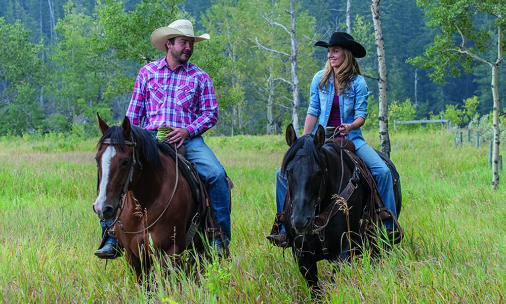 shawn turner amber marshall horses riding spouse field cowgirl magazine
