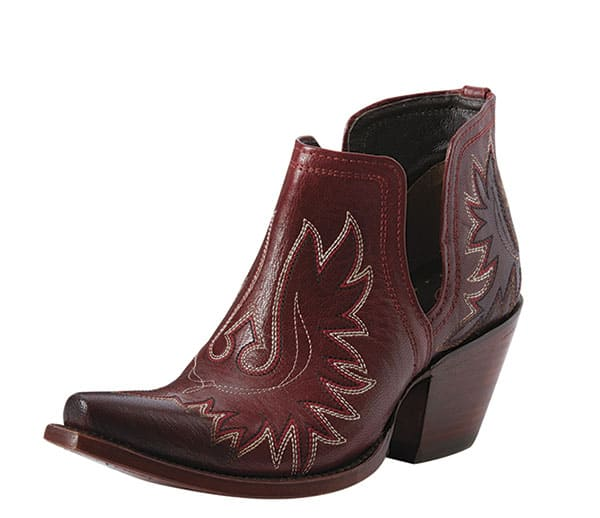winter clothing trends western fashion booties cowgirl magazine