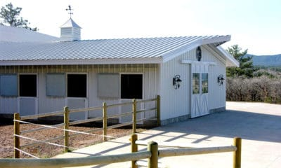 Prefab Horse Barn