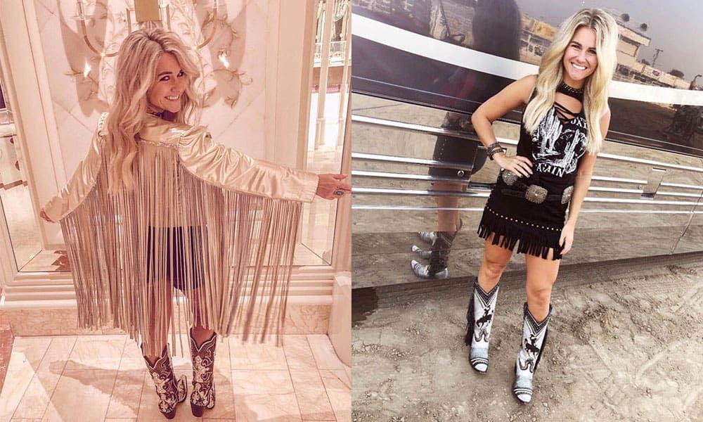 Brooke latke chance Williams band fiddle violin country music western fashion cowgirl magazine