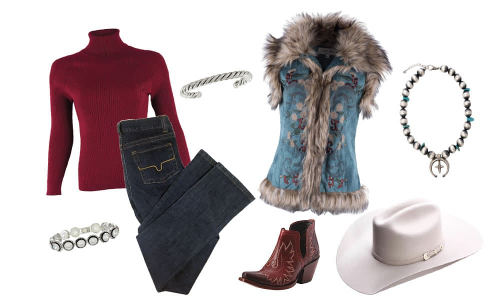 winter clothing trends western fashion ice cowgirl magazine