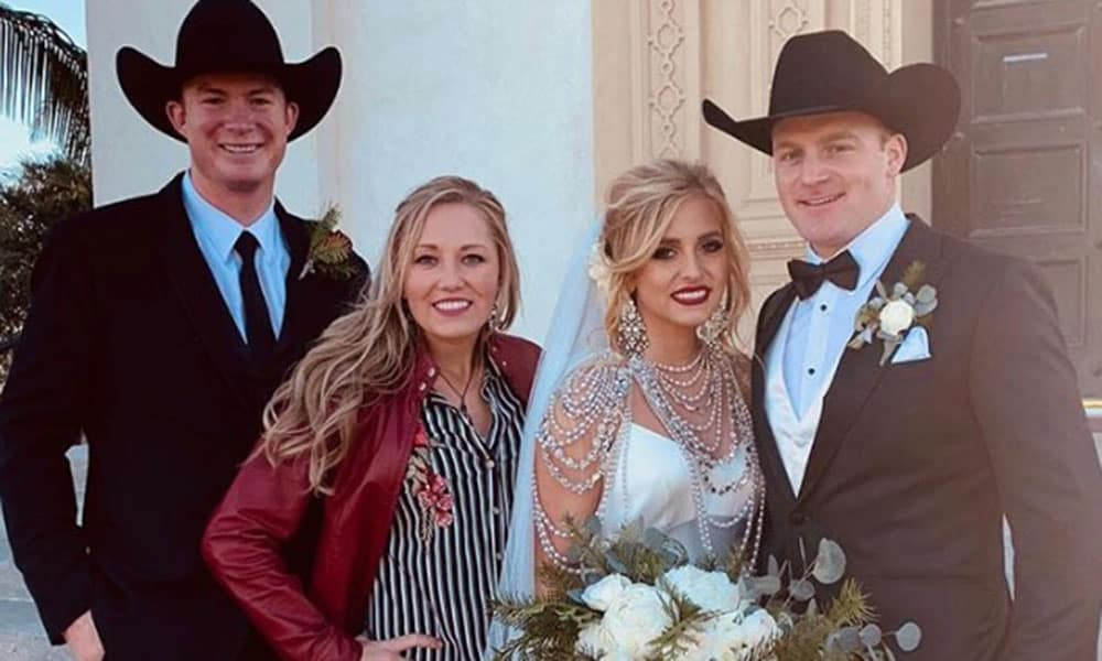 Rodeo Quincy Freeman Dakota Eldridge Wedding Cowgirl Magazine