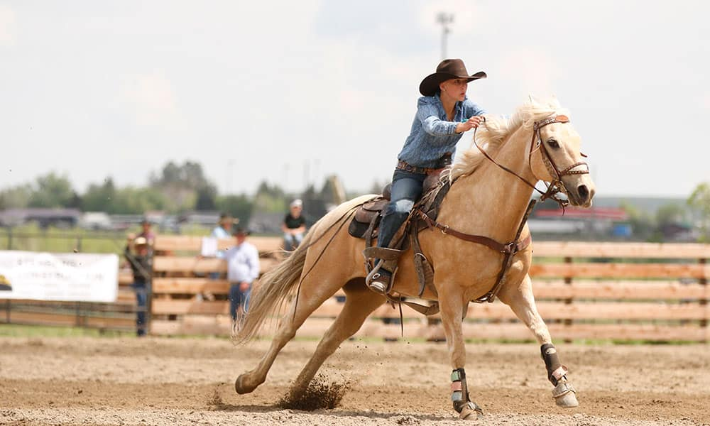 Sage Lindsay rodeo cowgirl cancer cowgirl magazine