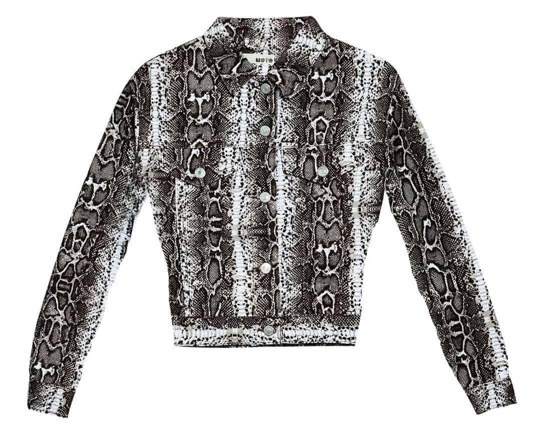 jacket nordstrom top shop snake snakeskin cowgirl magazine