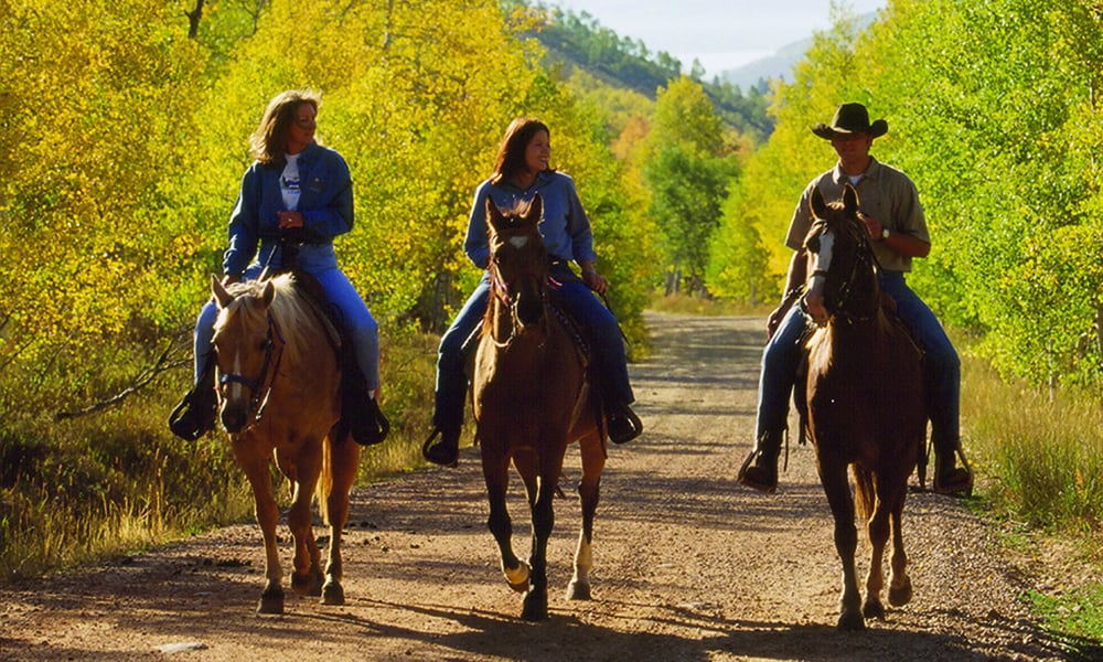 horseback riding equine park city utah nature outdoors cowgirl magazine