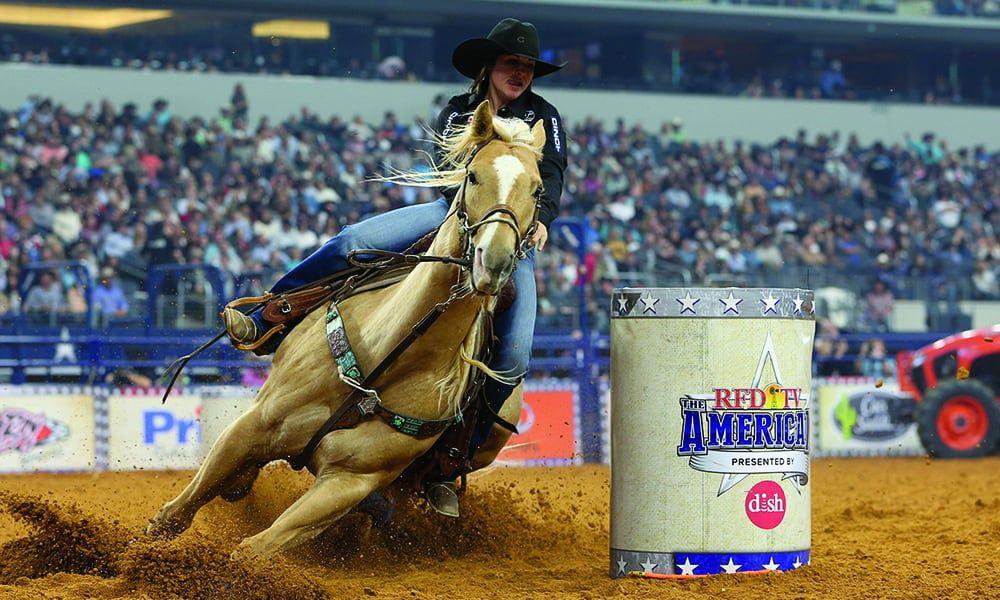 hailey kinsel rfd tv barrel racing the american horse riding cowgirl magazine
