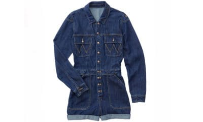 denim utility playsuit