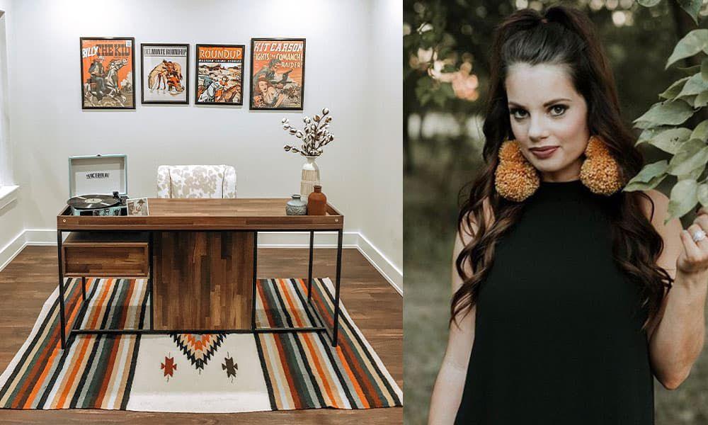 home office heaven Suzie crooch velvet brumby cowgirl magazine