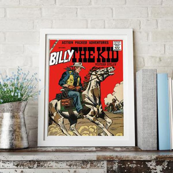 home office heaven Suzie crooch velvet brumby cowgirl magazine poster