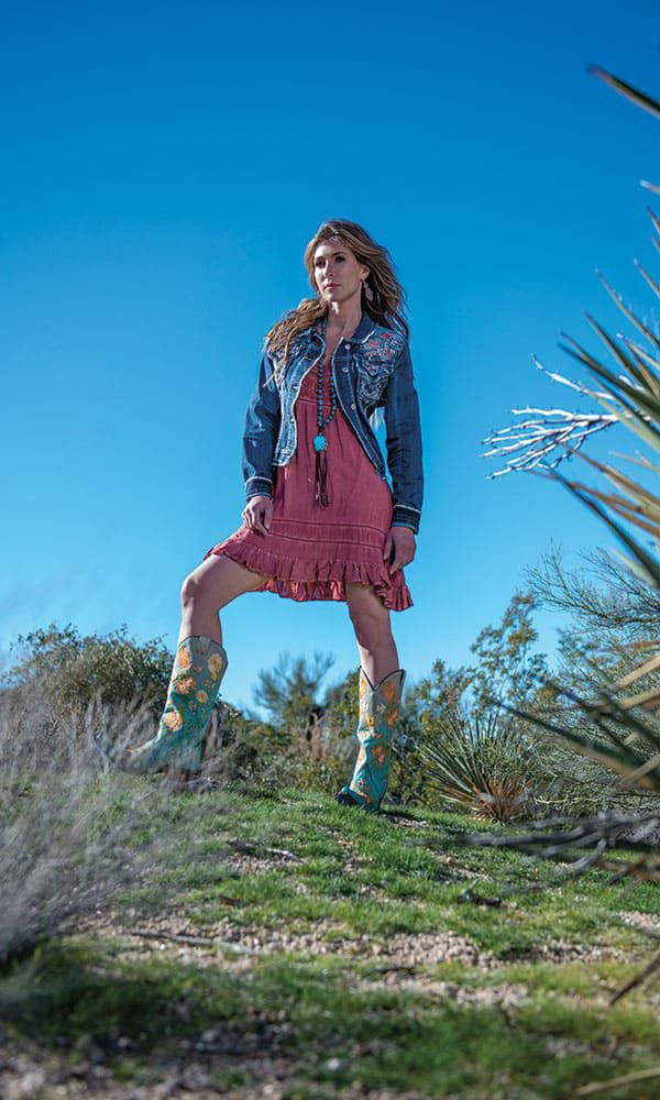 cowgirl spring desert fashion cowgirl magazine