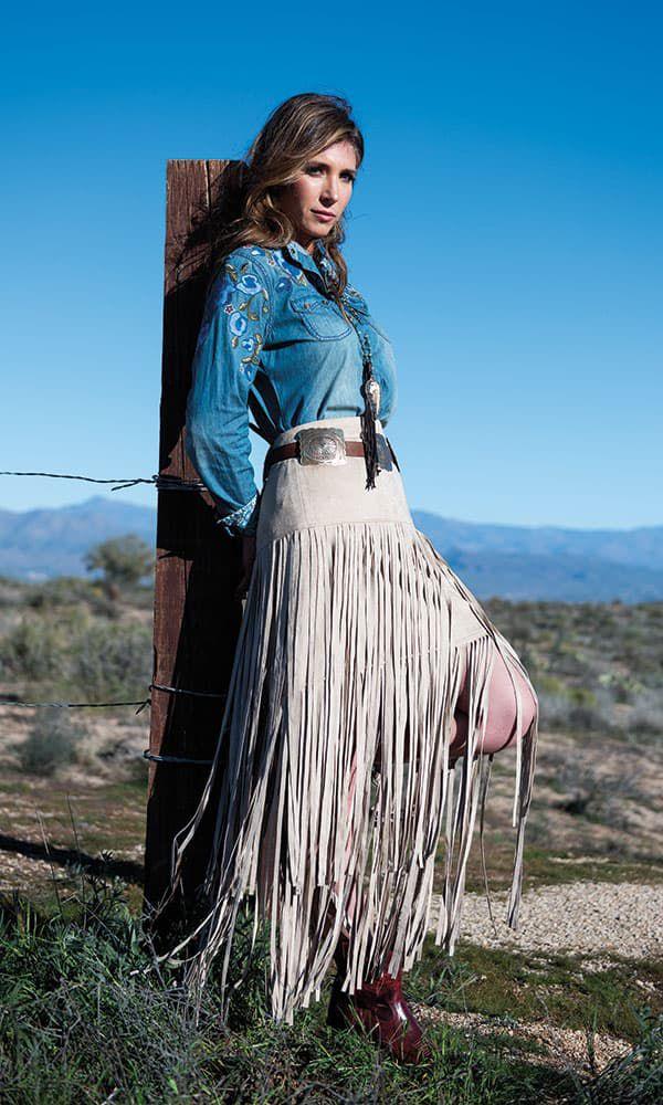 spring desert fashion cowgirl magazine