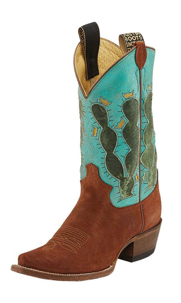 justin cactus cowboy boots cowgirl magazine