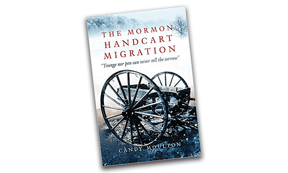 the mormon handcart migration candy moulton cover cowgirl magazine