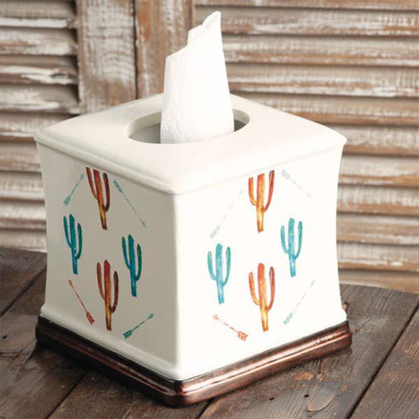 cactus in color collection rods cowgirl magazine tissue